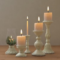 3d model of leah candle holders