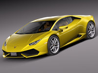 3d lamborghini huracan lp610-4 model