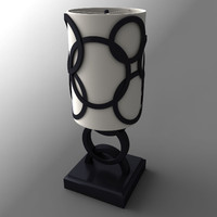 3d model lamp lampshades