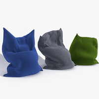 3d model fatboy bean bag