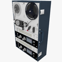 3d max reel tape recorder deck