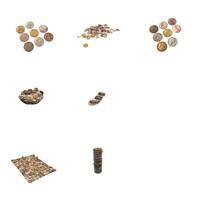 vintage coin 3d model