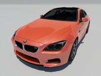 bmw m6 f13 3d model