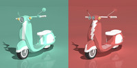 3ds max animation scooters