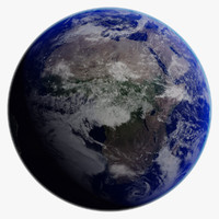 3d realistic earth model