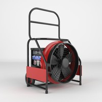 industrial fan 3d max