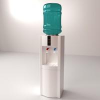 3ds max water dispenser
