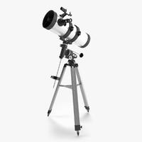 newton telescope 3d max
