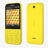3ds nokia 225 - yellow