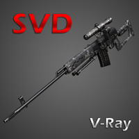 SVD Sniper Rifle