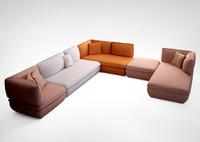 depadova mimic sofas 3d max