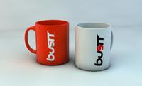 cup mugs 3d c4d
