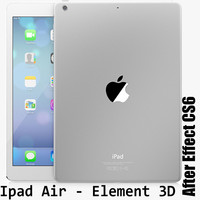 3d model element ipad air
