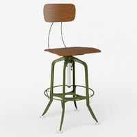 Vintage Toledo Dining Bar Chair
