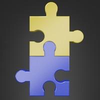 puzzles 3d obj