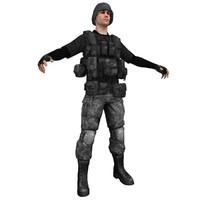 soldier helmet 3d max