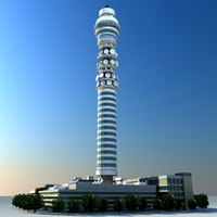 bt tower 3d 3ds