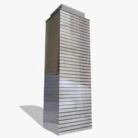 c4d skyscraper