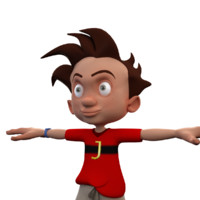 3ds max kid cartoon toon