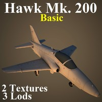 3d hawk 200 basic model