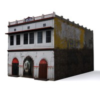 3d local indian house