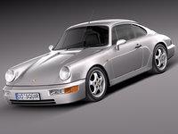 3ds max porsche 1990 911