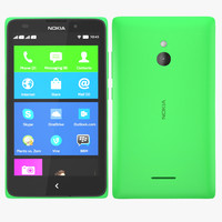 nokia xl - green