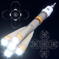maya soyuz-fg rockets