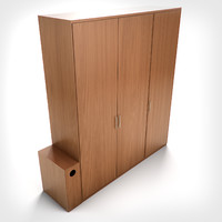 3ds max hd wardrobe