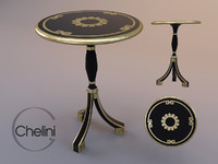 3ds max chelini table