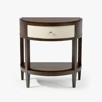 3d max century tribeca nightstand
