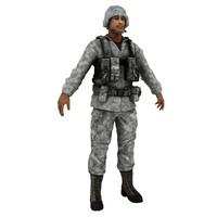3d model man male human