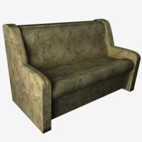 3d model of couch sofa