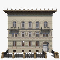 exactly berlin residence lützowplatz 3d model