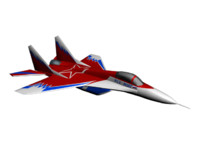 aircraft mig 29 3ds
