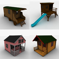 3d rens playhouses