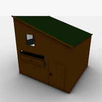 3d childrens playhouse