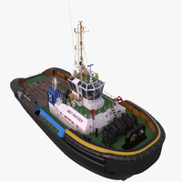 tugboat tug smit 3d model