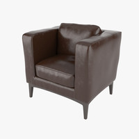 3dsmax armchair realistic