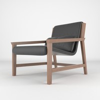 3d chair realistic model