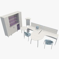 3d office furniture