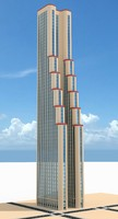 3d model of skyscraper nr 10