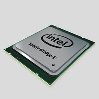 3d model of intel core i7