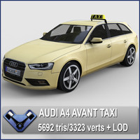 3d model 2013 audi a4 avant
