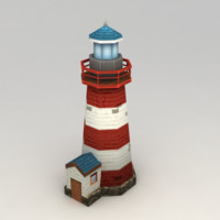 Lowpoly Lighthouse Model