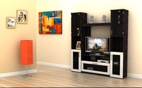3dm contemporary wall unit