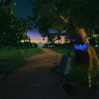 forest toon 3d model