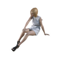 3ds max human woman girl