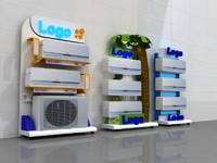 3d 3 stand design air conditioning