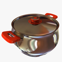 3d model pot cook cooker